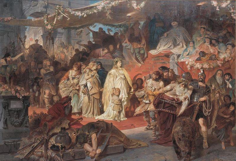 Carl_Theodor_von_Piloty_Thusnelda_im_Triumphzug_des_Germanicus