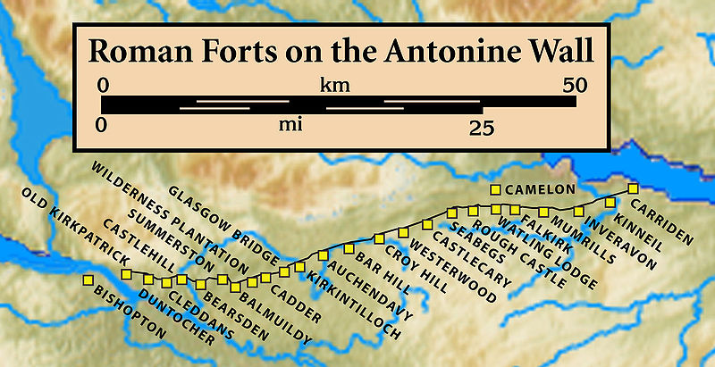 Roman Forts on the Antonine Wall